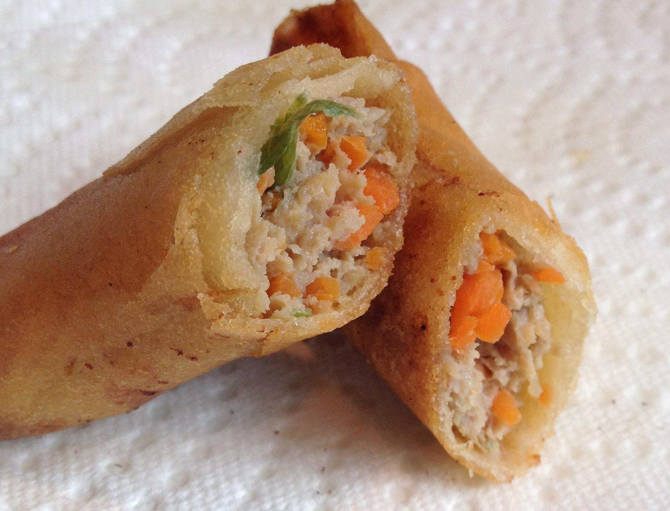Filipino pork egg rolls recipe